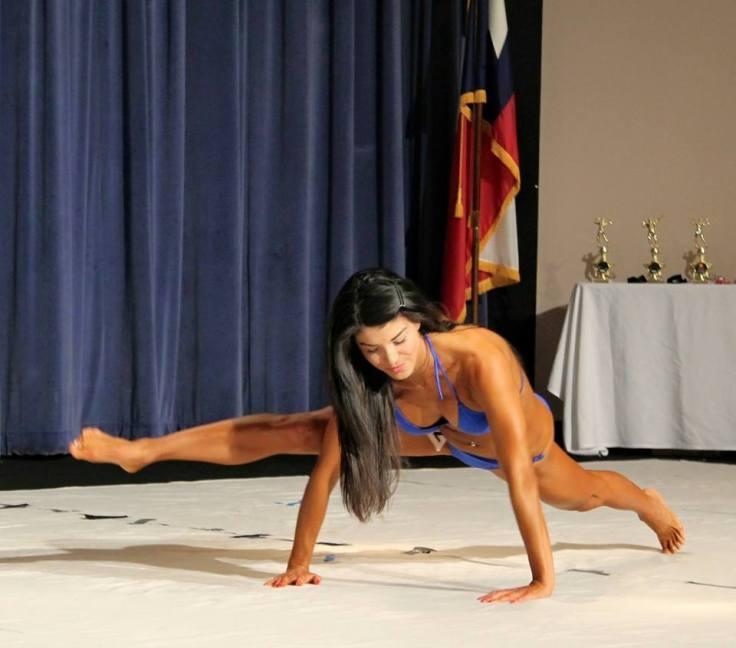 Nina at the 2015 SMU Body Building Championship