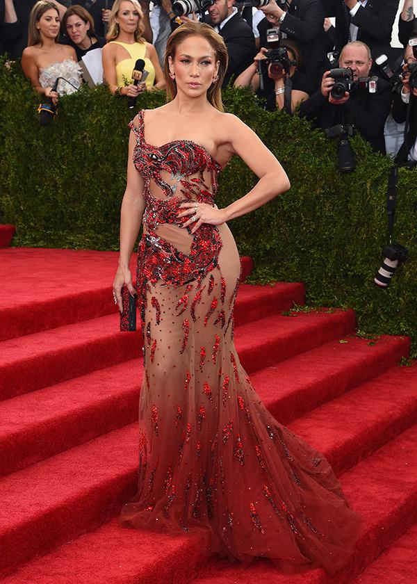 Jennifer Lopez  Gown by  Atelier Versace