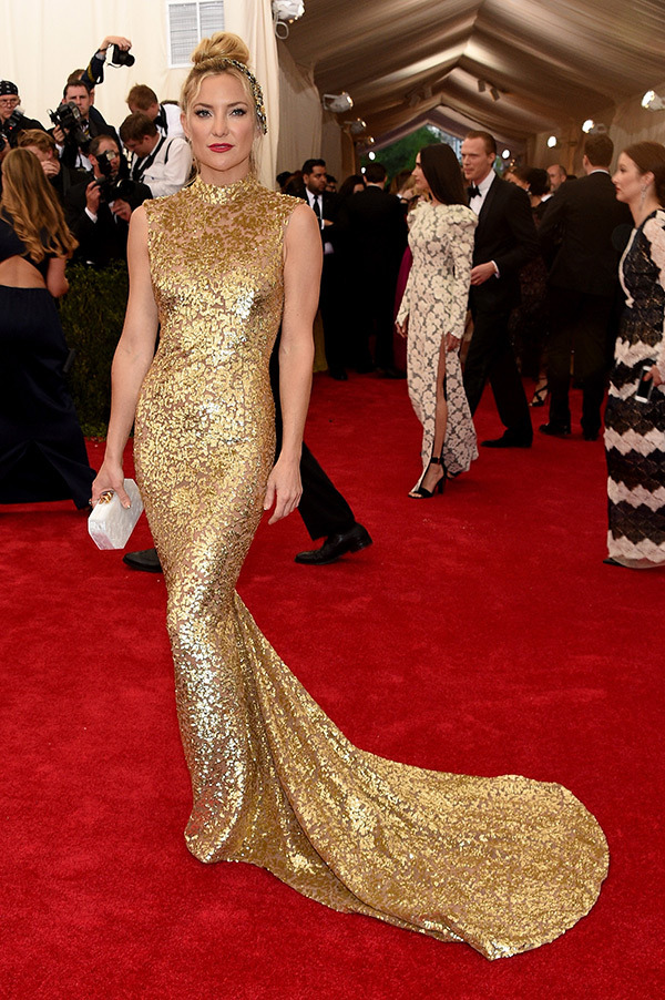 Kate Husdson  Dress by Michael Kors