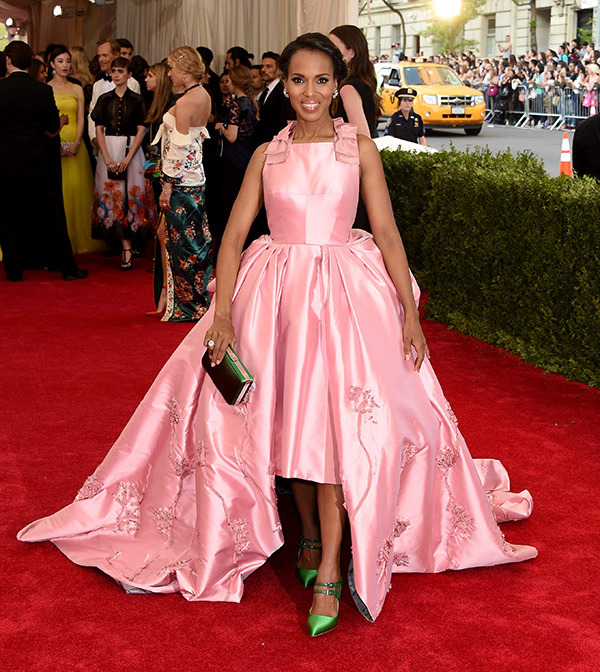 Kerry Washington  Gown by Prada
