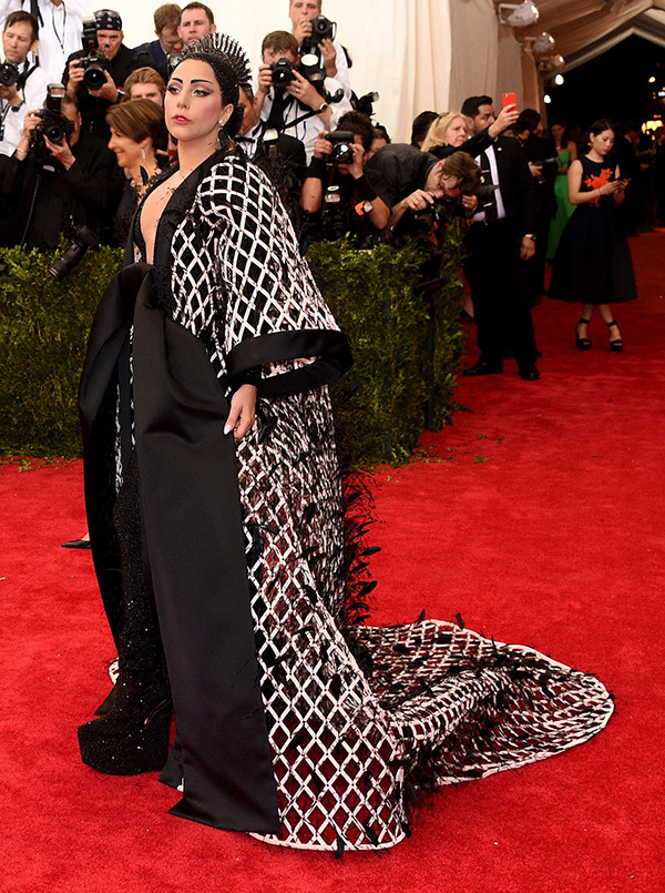 Lady Gaga  Gown by Balenciaga