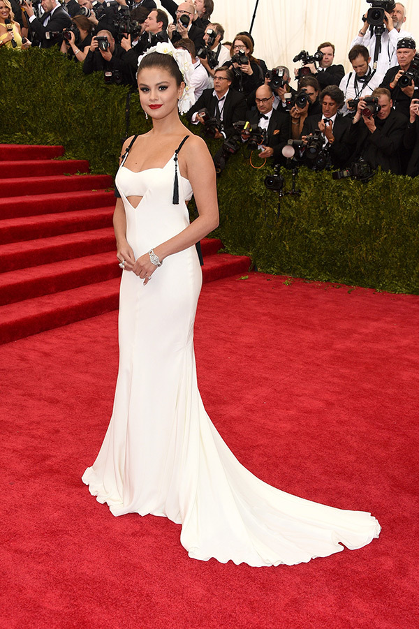 Selena Gomez  Gown by  Vera Wang gown