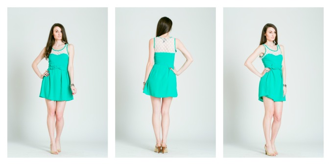 Larole.com..green dress