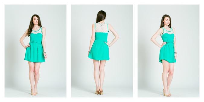 Larole.com..green dress