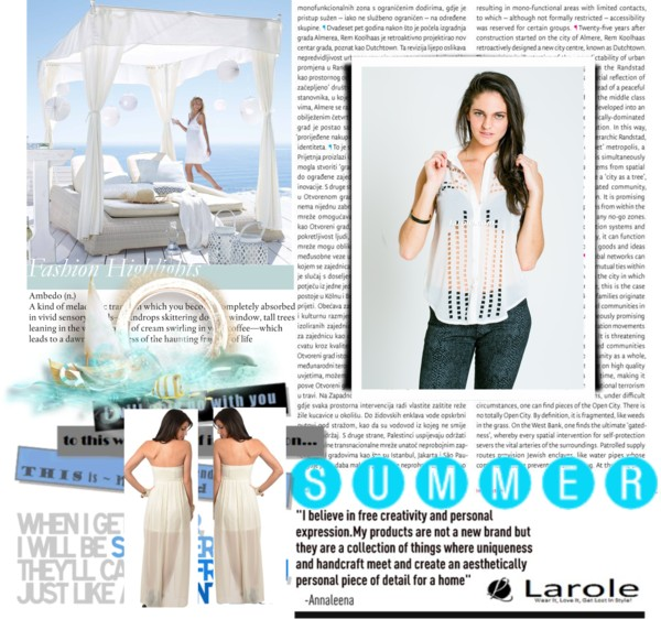 Larole white top